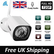 Wireless WiFi IP Camera CCTV Security System Outdoor IR Night 2 Way Audio Smart