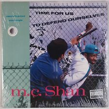 "MC SHAN: Time for Us to Defend Ourselves M.C. SEALED 12"" Rap '90 Hip Hop"