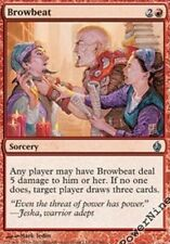 4 PreCon PLAYED FOIL Browbeat - Red PDS Fire and Lightning Mtg Magic Uncommon 4x