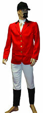 Fox Hunter Adult Costume Fancy Dress Stag Do Party Palmer Official