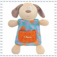 G - Doudou Plat Carré Chien Chicco  Collection Happy Colors