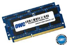 OWC ram 16GB (2 x 8GB) 204-Pin SODIMM PC3-8500 DDR3 1066MHz  memory for Mac