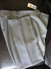 Marks and Spencer Plus Size Straight Leg Polyester Women's Trousers