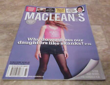 MACLEAN'S MAGAZINE JAN 1, 2007 SPECIAL DOUBLE ISSUE VOL 119, NO. 52 & 53