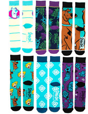 Scooby Doo 6 Pack Socks Bioworld