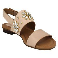 Clarks Viveca Melrose Womens Nude Ankle Strap Sandal SIZE UK4 EUR37 US6.5