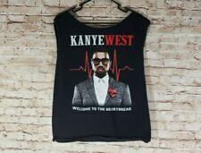 Kanye West T Shirt Heartbreak Hollywood Bowl Sept 25-26 Tour Sleeveless Size M/L