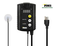 iPower Digital Heat Mat Thermostat Controller Seed Germination Reptiles &Brewing