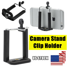 Universal Camera Stand Clip Bracket Mount Holder Monopod Adapter for Smart Phone