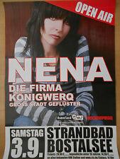 NENA  2003 STRANDBAD BOSTALSEE  ++  orig.Concert Poster - Konzert Plabatr A1 .