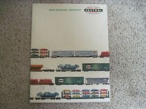 VINTAGE 1961 ANNUAL REPORT NEW YORK CENTRAL SYSTEM