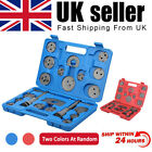 22Pcs Universal Car Disc Brake Caliper Piston Rewind Wind Back Tool Pad Kit UK