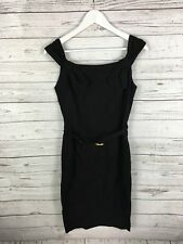 Vestido De Fiesta isla RIVER-UK10-Negro-Excelente Estado-Para Mujer