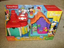 Fisher Price Little People Disney Mickey Mouse Goofy's Gas Dine Station playset