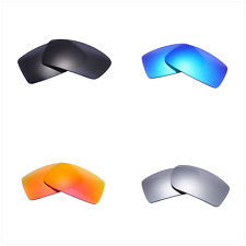 Set of 4 Pairs Replacement Lenses Lens for Oakley GASCAN Sunglass Glass Frame