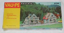 VAU-PE 8194 1:87 Scale HO Scale Homes Under Construction Model KIT - NEW SEALED