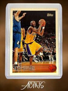 1996 Kobe Bryant Topps RC ROOKIE NOTE