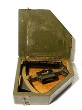 Oak Cased WW 2 FIELD CLINOMETER MARK IV No. 307 Artillery Sight #C11
