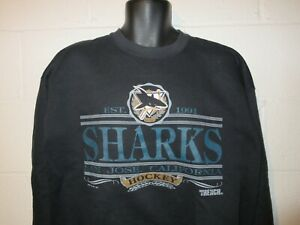 Vintage 90s 1992 San Jose Sharks Sweatshirt XL