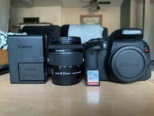 Canon EOS REBEL T7i BUNDLE w/18-55mm lens & 55-250mm lenses - FINAL SALE