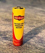 Vintage Ray-O-Vac AA Batteries