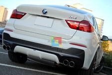 POSTERIORE ACS SPOILER SOTTO PARAURTI PER BMW X4 F26 DIFFUSORE M TECH