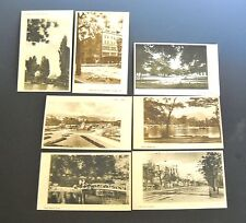 Black and White Vintage Post WWII from Sapporo Japan Lot of 7 Blank Postcards