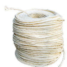 10M 6mm DIY Cat scratching post pet toy Natrual Cordage Twisted Sisal rope