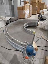 More details for reduced: 90cm wide 180 degree turn conveyor belt yom 2016