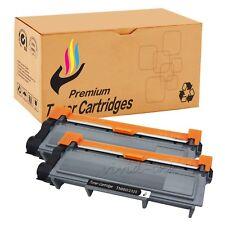2 High Yield TN660 Black Toner Cartridge For Brother MFC-L2740DW L2700DW Printer