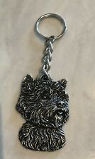 New Vintage West Highland Terrier Keychain Key Chain Westie  Canine Dog K9