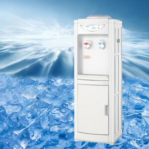 Hot&Cold Water Cooler Dispenser Free standing 5 Gallons Top Loading Office New