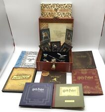 Harry Potter Years 1-5 Blu-Ray DVD 7-Disc Set Gift Cards Game Trunk Chest Box