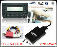 Yatour Digital CD Changer for New Mazda 3/5/6 2009+can-bus interface SD USB Aux