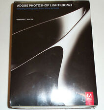 New / Sealed Adobe Photoshop Lightroom 3 (Retail) Full Version for Windows