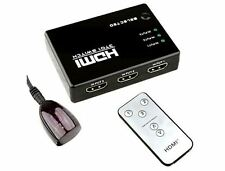 Dynamode/lms datos 3-port Multimedia Hdmi Switch Con Control Remoto