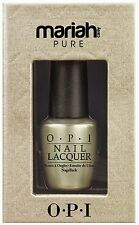 OPI - Mariah Carey Pure - 18 Carat White Gold & Silver Topcoat 15ml - NEW