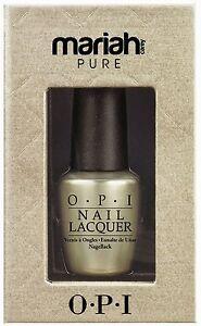 OPI - Mariah Carey Pure - 18 Carat White Gold & Silver Topcoat 15ml - NEW