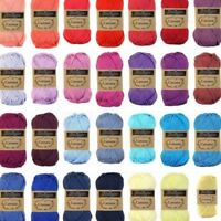 Scheepjes Catona Yarn 25g - 50g | 100% Cotton 4ply | Choose Shade | P&P £2.80