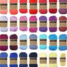 Scheepjes Catona Yarn 25g - 50g | 100% Cotton 4ply | Choose Shade | P&P £1.30