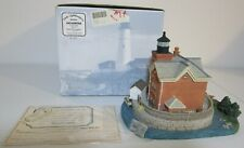 Harbour Lights #171 Saugerties New York Ny Lighthouse Coa/Nib signed