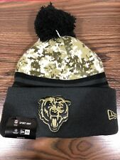 Men's Chicago Bears NFL New Era Camo  Salute To Service Knit Beanie Hat, NWT