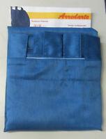 Tenda tendone Odessa con passanti 100% poliestere 138x300 cm colore blu coprente