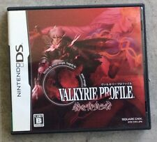 Valkyrie Profile: Covenant of the Plume Nintendo DS Japanese Version US Seller