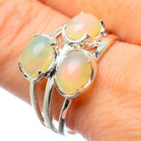 Ethiopian Opal 925 Sterling Silver Ring Size 10 Ana Co Jewelry R28635F