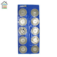 10pc 50 mm Diamond Coated Blade Wheel Cutting Cut Off Disc Grinder For Dremel