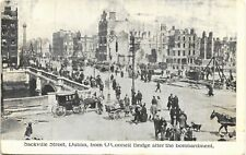 Dublin Irish Political. Sackville Street after the Bombardment by Coleman's.