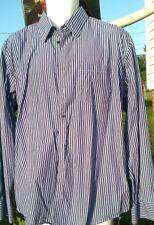 Men's Toscano Long Sleeve Shirt Size XL white