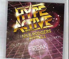 Hype Active vs Nile Rodgers Feat Pitbull -Freak Promo cd single