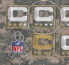 NFL SALUTE TO SERVICE CAMOUFLAGE CAPTAINS PATCH TWO-2-STAR ACU DIGITAL C-PATCH